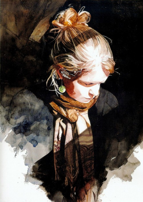 40 Extremely Mesmerizing Examples Of Traditional & Digital Watercolor Painting 30