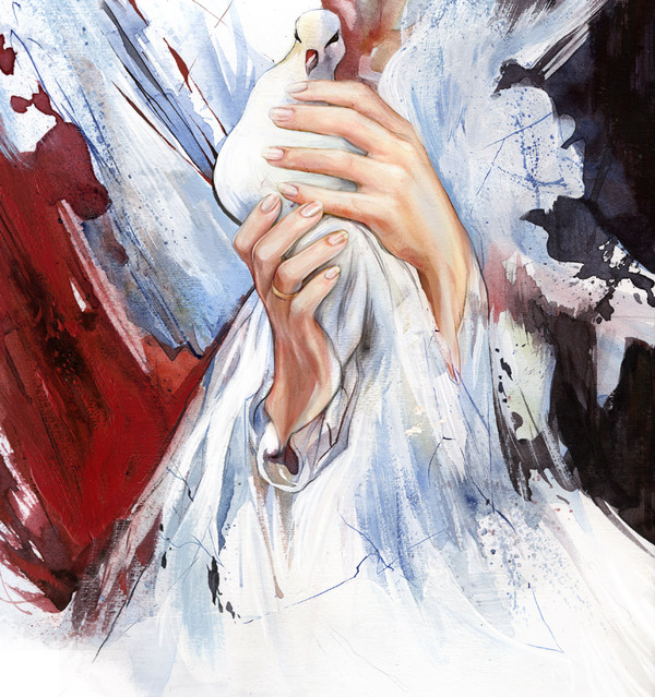 40 Extremely Mesmerizing Examples Of Traditional & Digital Watercolor Painting 9