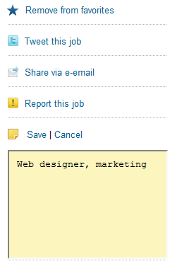 Sensational Jobs : A Job Board For Web Developers, Graphic Designers And Bloggers 6