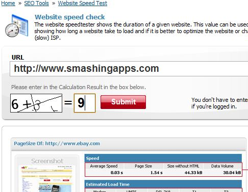 7 Excellent Website To Test And Compare Website Speed 3