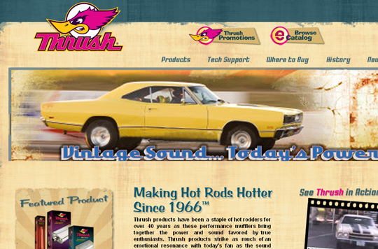 The Most Creative Examples Of Vintage And Retro Style Website (40 Designs) 16