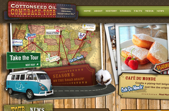 The Most Creative Examples Of Vintage And Retro Style Website (40 Designs) 17