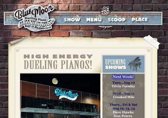 The Most Creative Examples Of Vintage And Retro Style Website (40 Designs) 22