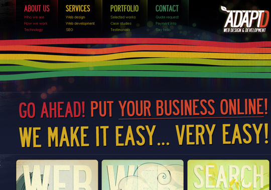 The Most Creative Examples Of Vintage And Retro Style Website (40 Designs) 24