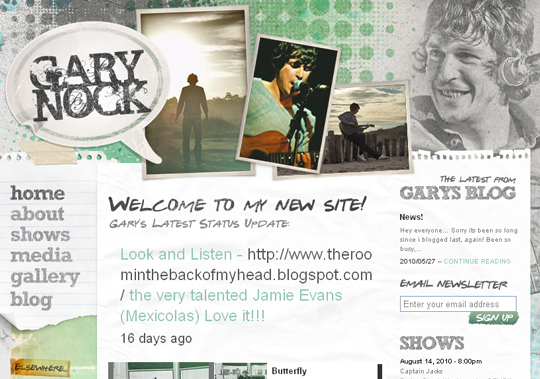 The Most Creative Examples Of Vintage And Retro Style Website (40 Designs) 25