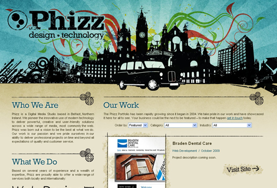 The Most Creative Examples Of Vintage And Retro Style Website (40 Designs) 27