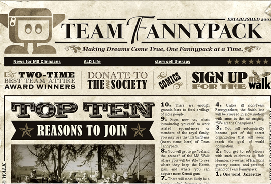 The Most Creative Examples Of Vintage And Retro Style Website (40 Designs) 29