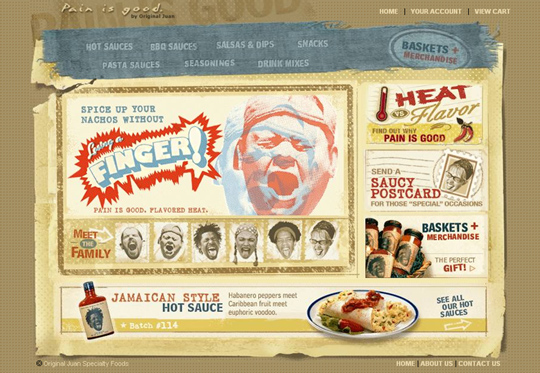 The Most Creative Examples Of Vintage And Retro Style Website (40 Designs) 32