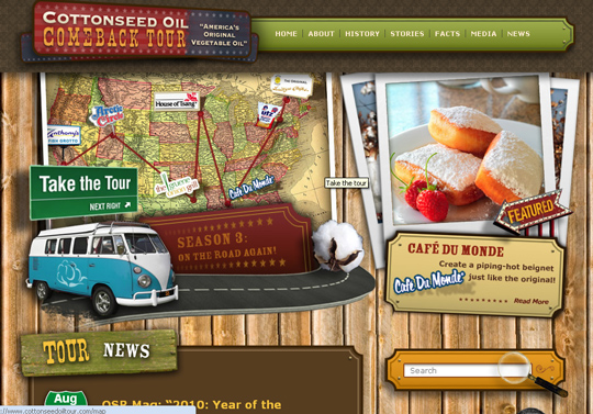 The Most Creative Examples Of Vintage And Retro Style Website (40 Designs) 33