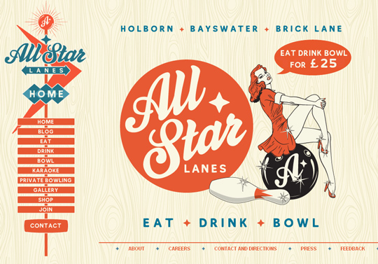 The Most Creative Examples Of Vintage And Retro Style Website (40 Designs) 36