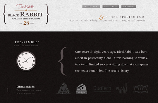 The Beautiful Use Of Black In Web Design To Grab Viewer's Attention 15