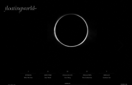 The Beautiful Use Of Black In Web Design To Grab Viewer's Attention 16