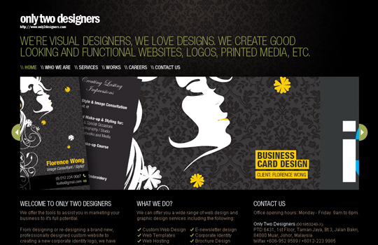 The Beautiful Use Of Black In Web Design To Grab Viewer's Attention 3