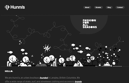 The Beautiful Use Of Black In Web Design To Grab Viewer's Attention 20