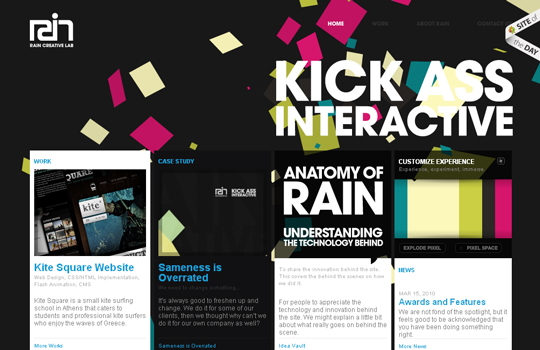 The Beautiful Use Of Black In Web Design To Grab Viewer's Attention 7