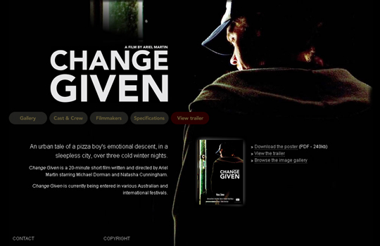 The Beautiful Use Of Black In Web Design To Grab Viewer's Attention 22