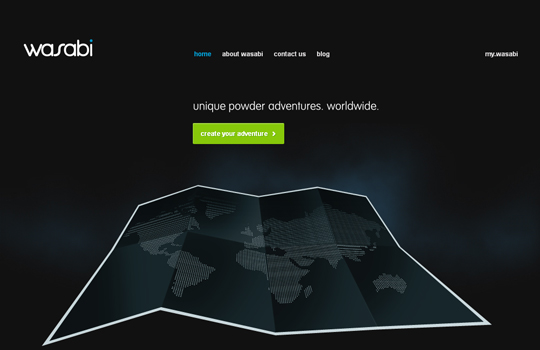 The Beautiful Use Of Black In Web Design To Grab Viewer's Attention 24