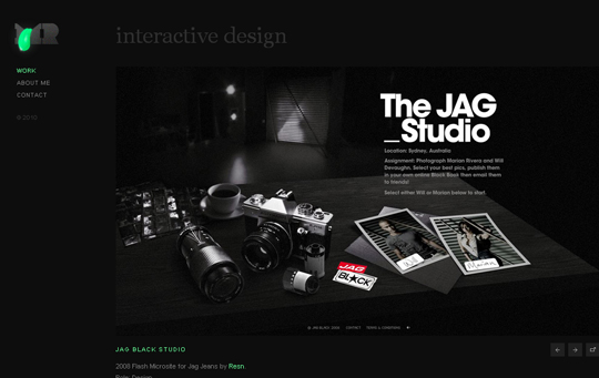 The Beautiful Use Of Black In Web Design To Grab Viewer's Attention 28