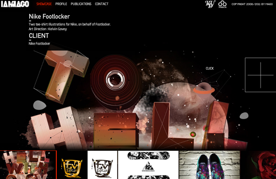The Beautiful Use Of Black In Web Design To Grab Viewer's Attention 4