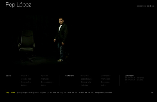 The Beautiful Use Of Black In Web Design To Grab Viewer's Attention 8