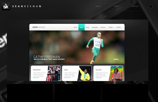 The Beautiful Use Of Black In Web Design To Grab Viewer's Attention 9