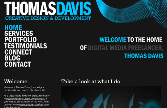 The Beautiful Use Of Black In Web Design To Grab Viewer's Attention 10