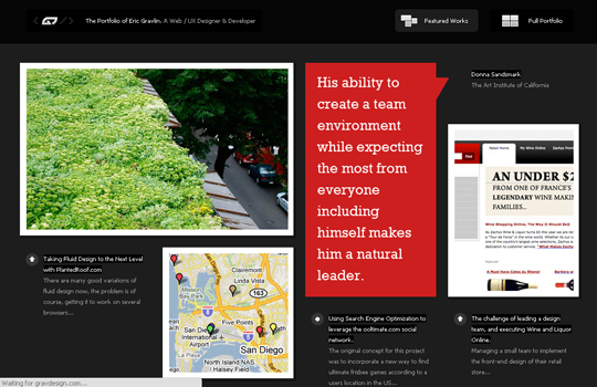 The Beautiful Use Of Black In Web Design To Grab Viewer's Attention 12