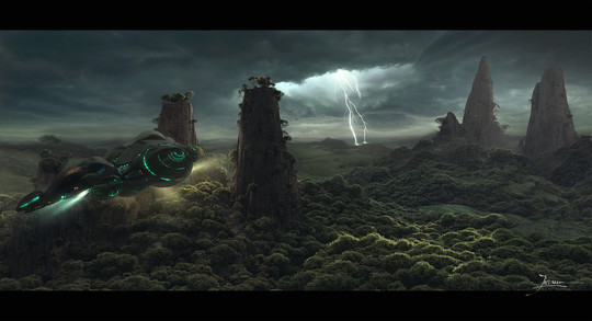 Beyond The Belief Digitally Created CG Environments 18