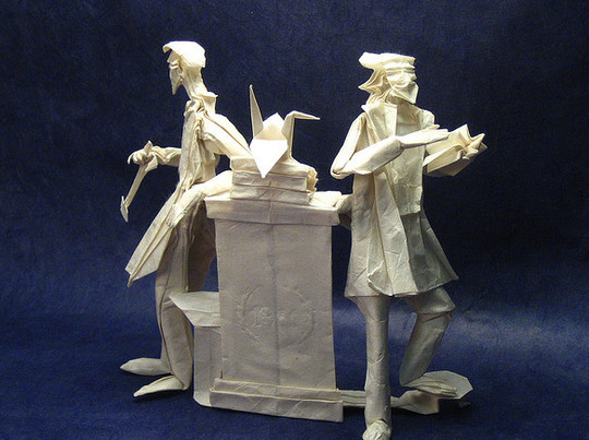 Fantastically Creative Examples of Paper Art That Make You Say Wow 29