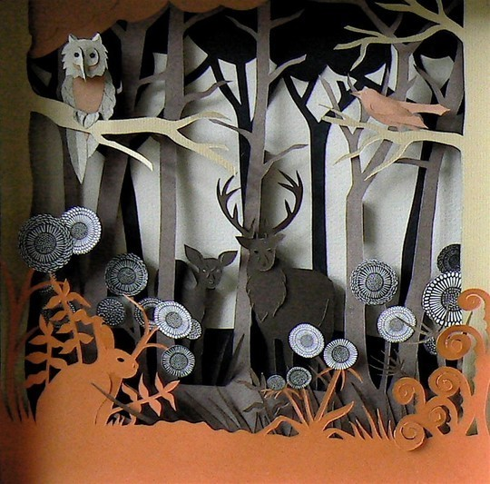Fantastically Creative Examples of Paper Art That Make You Say Wow 30