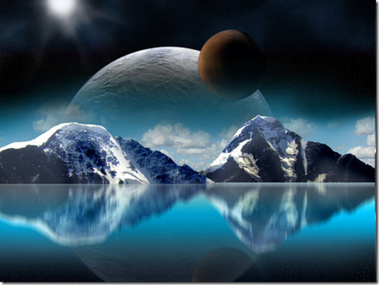 """40 Robust Tutorials Of """"How To Create Planet And Space Art"""" On Photoshop 12"""