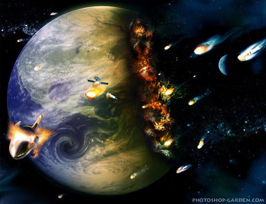 """40 Robust Tutorials Of """"How To Create Planet And Space Art"""" On Photoshop 16"""