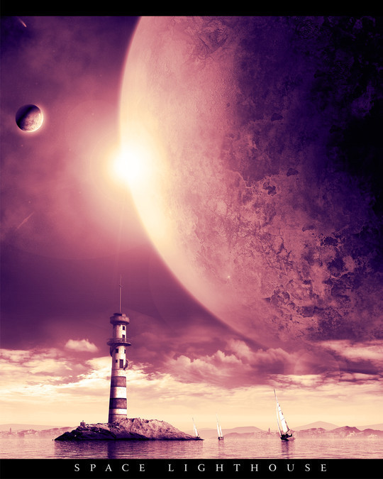 """40 Robust Tutorials Of """"How To Create Planet And Space Art"""" On Photoshop 35"""