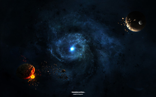 """40 Robust Tutorials Of """"How To Create Planet And Space Art"""" On Photoshop 39"""