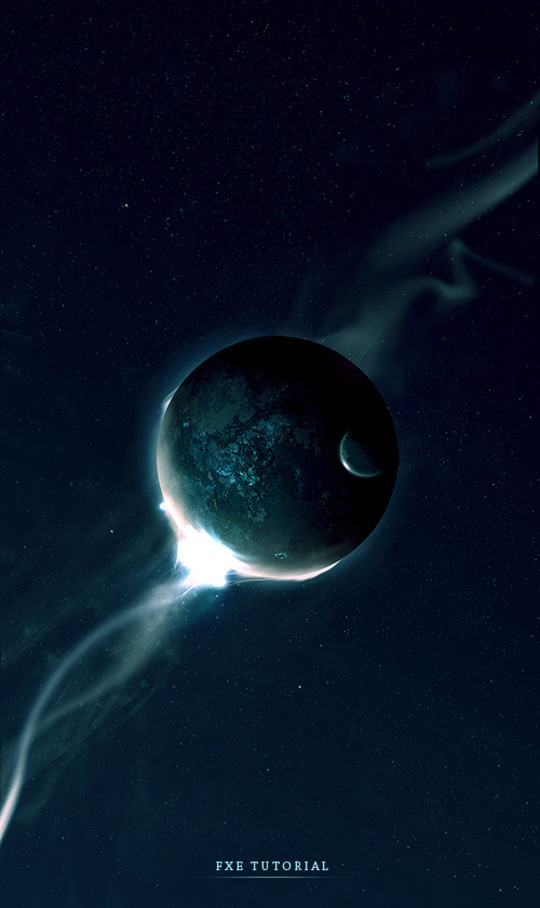 """40 Robust Tutorials Of """"How To Create Planet And Space Art"""" On Photoshop 2"""