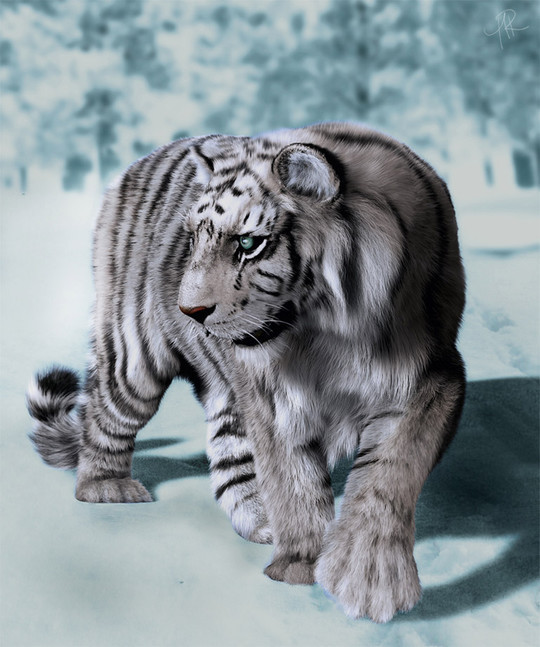 The Most Stunning Examples of 3D Animal Artworks 19