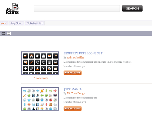 Excellent Search Engines You Should Visit To Find High Quality Icons 7
