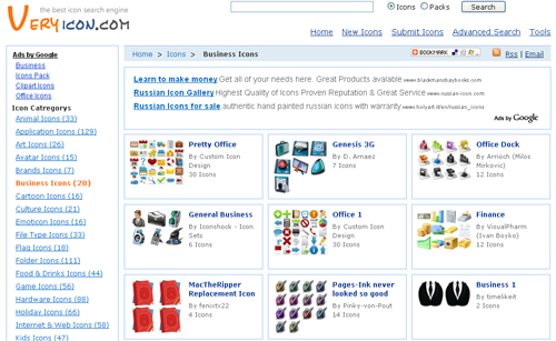 Excellent Search Engines You Should Visit To Find High Quality Icons 5