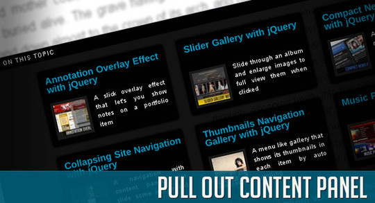 Absolutely Amazing Techniques To Create Eye-Catching Websites With JQuery (Best Of 2010) 20