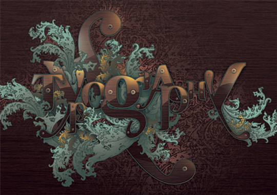 Absolutely Awesome Tutorials To Create (Visually Attractive) Typographic Designs 26