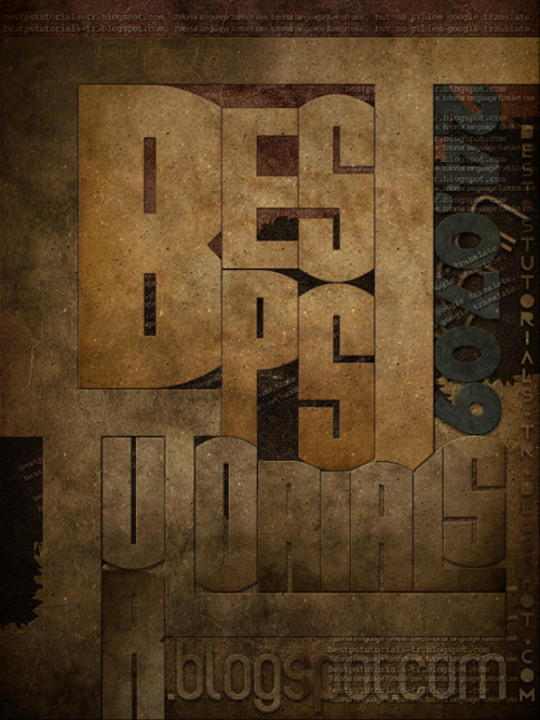 Absolutely Awesome Tutorials To Create (Visually Attractive) Typographic Designs 39