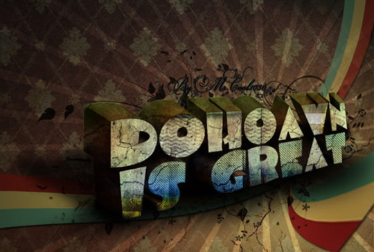 Absolutely Awesome Tutorials To Create (Visually Attractive) Typographic Designs 14