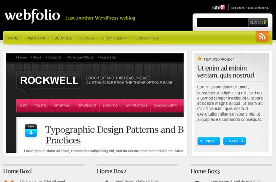 The Best Premium-Like Free Wordpress Themes Of 2010 15