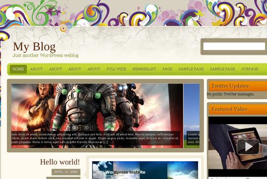 The Best Premium-Like Free Wordpress Themes Of 2010 2