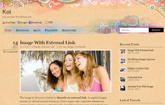 The Best Premium-Like Free Wordpress Themes Of 2010 9
