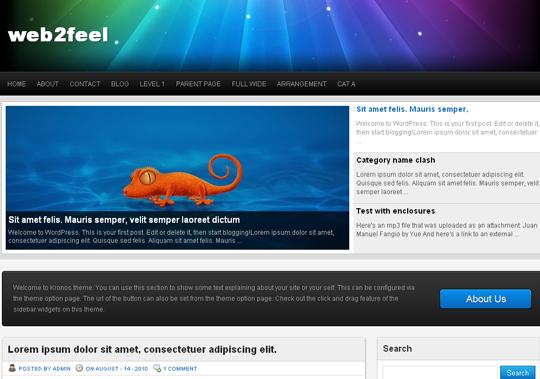 The Best Premium-Like Free Wordpress Themes Of 2010 10