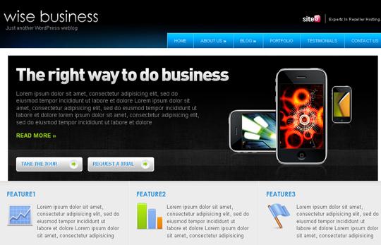 The Best Premium-Like Free Wordpress Themes Of 2010 17