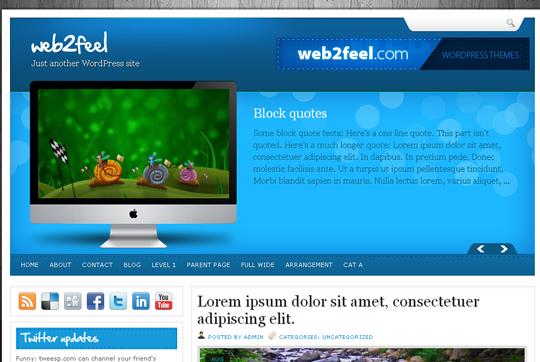 The Best Premium-Like Free Wordpress Themes Of 2010 37