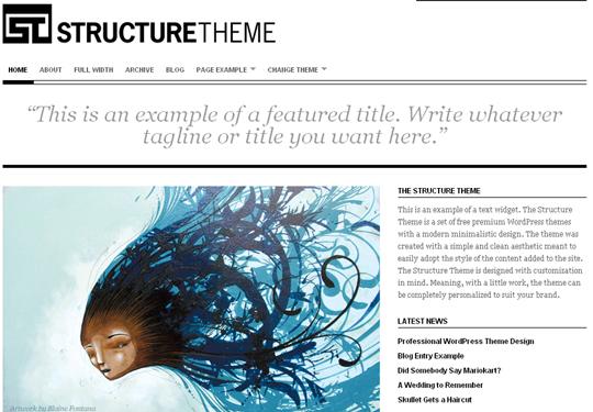 The Best Premium-Like Free Wordpress Themes Of 2010 41