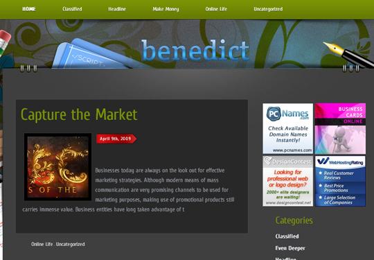 The Best Premium-Like Free Wordpress Themes Of 2010 13